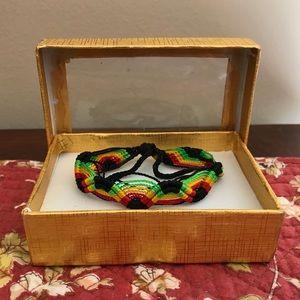 Rastafarian friendship bracelet